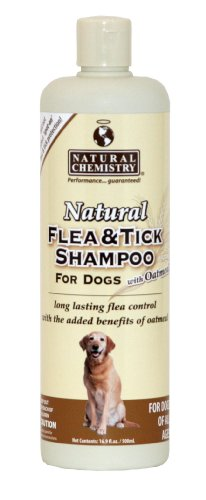 Natural Chemistry Natural Flea and Tick Shampoo with Oatmeal review