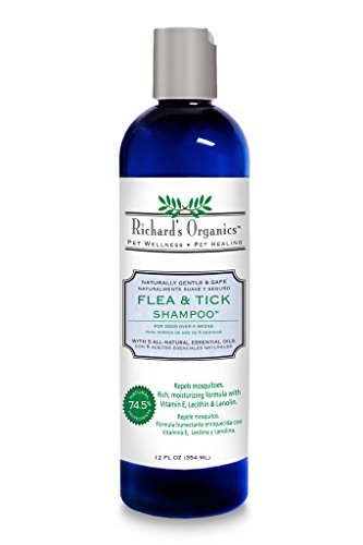 SynergyLabs Richard's Organics Flea  Shampoo review