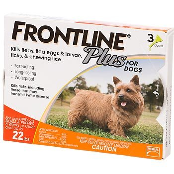 Merial Frontline Plus flea drops review