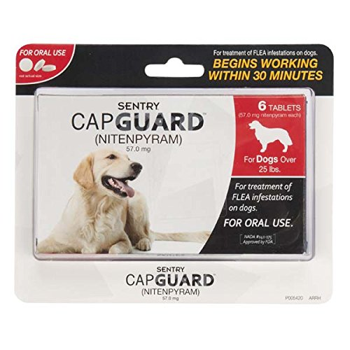 Sentry CapGuard flea tablets review