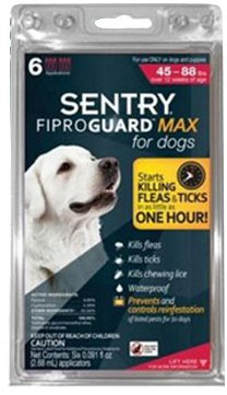 Fiproguard MAX flea medication