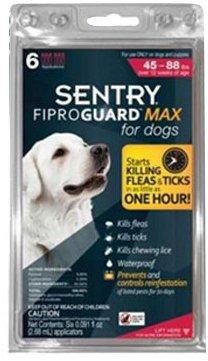 Fiproguard MAX flea medication