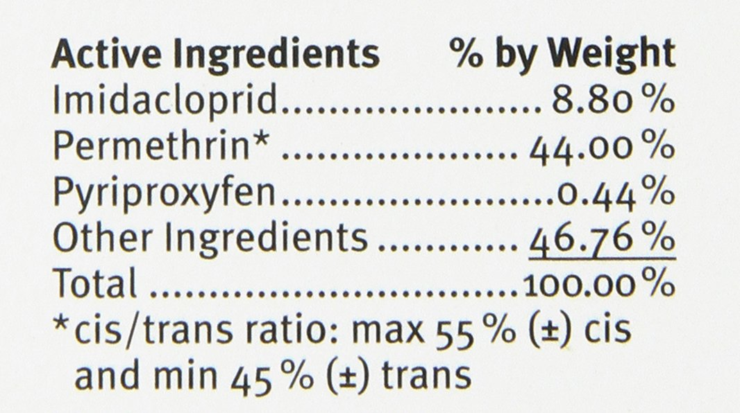 advantix 2 flea treatment ingredients