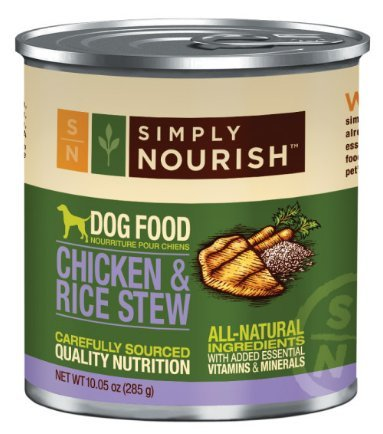 simply nourish wet dog food