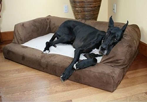 Baxter Microsuede Orthopedic Couch with Anti-pile Polar Fleece Seat review