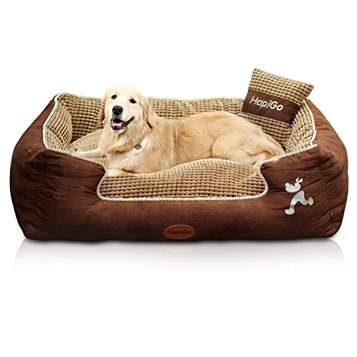 HappierGo Waterproof Dog bed With Corn Pillow review