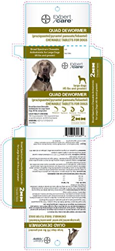 Quad dewormer bayer expert care