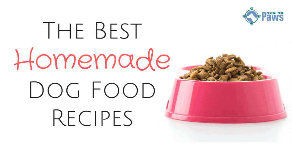 Making Natural Dog Food Recipes