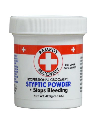 stypic powder to stop bleeding nails