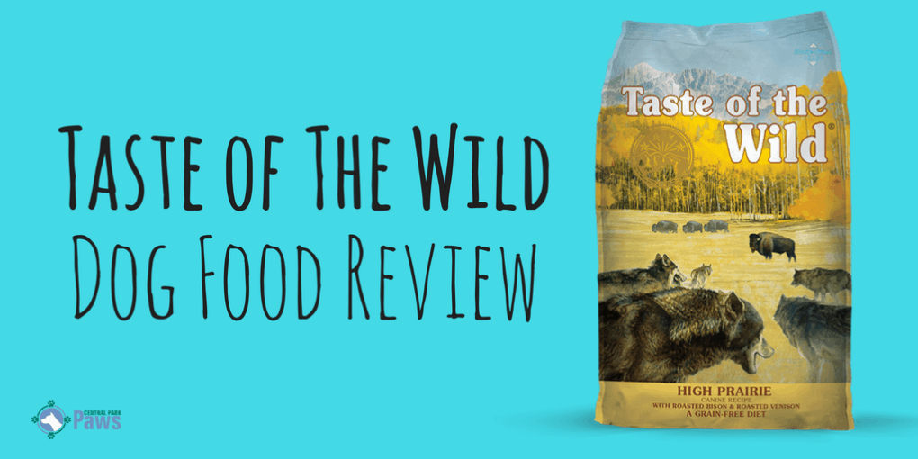 Taste of The Wild Grain Free Dog Food Review