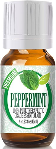 Peppermint essential oil is a natural flea repellant
