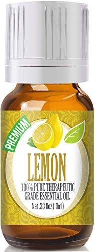 Lemon essential oil keeps fleas away