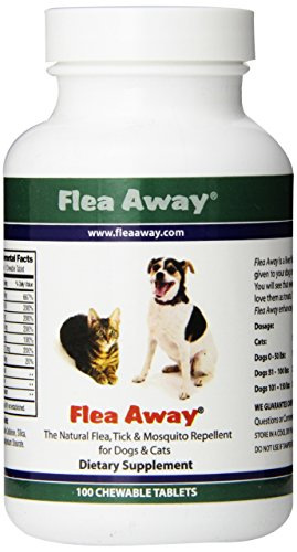 Flea Away Tablets - Flea Repellant Pills for Dogs and Cats