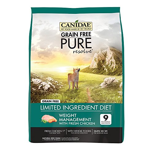 Canidae Grain Free Limited Ingredient Weight Management Dog Food review
