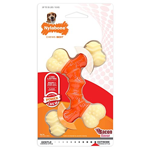 nylabone power chew bacon flavor extreme chewing style