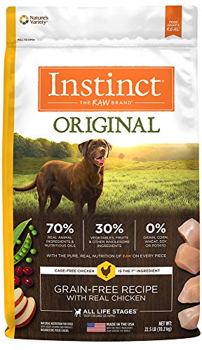 Nature's Variety Instinct Grain-Free Dry Dog Food review
