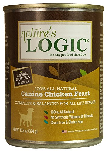 Nature's Logic Canned Dog Food for healthy skin and coat