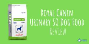 Royal Canin Veterinary Diet Canine Urinary SO Dog Food Review