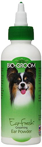 Bio Groom Ear Fresh Powder boric acid fight dog ear infections