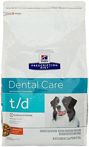 Hill's Prescription Diet dental care t/d clinical nutrition chicken flavor