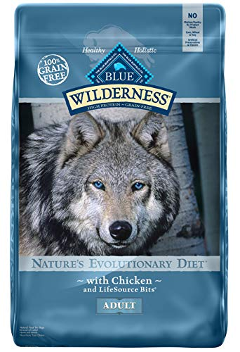 Blue Buffalo Wilderness High Protein Grain Free Adult Dry Dog Food