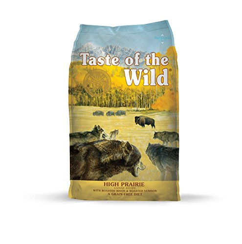 Taste of the Wild large breed dog food without grains for German Shepherds