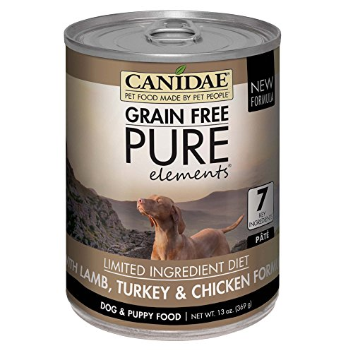 CANIDAE Grain Free Pure Dog Wet Food for German Shepherds