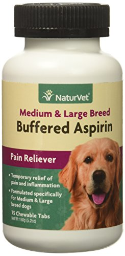 NaturVet Buffered Aspirin can dogs take aspirin pain relievers