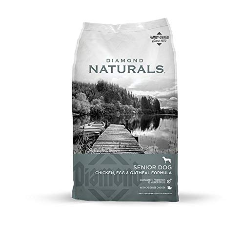 diamond naturals senior dog egg oatmeal cage free chicken