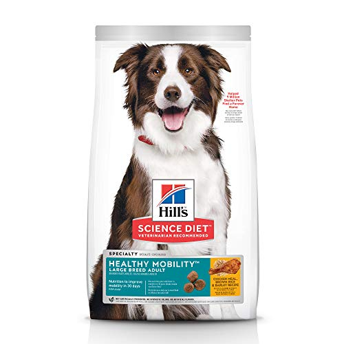 hill's science diet specialty healthy mobility large breed adult food