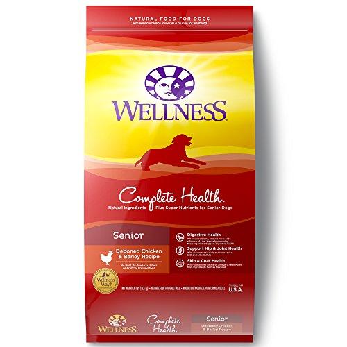 wellness complete health senior natural dog food digestive health