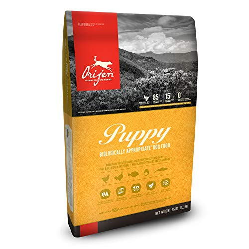 Orijen puppy biologically appropriate dog food high budget expensive high quality