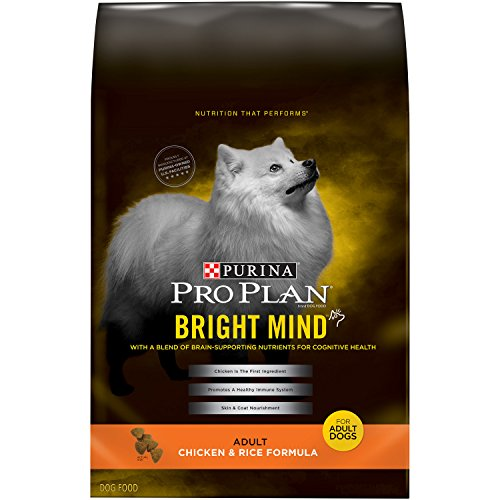 Purina Pro Plan Bright Mind adult dog food for cognitive health old dogs