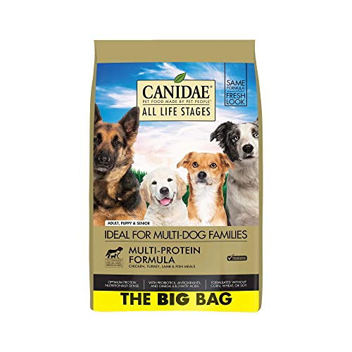 CANIDAE all life stages dry dog food for multi-dog families