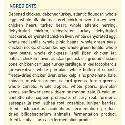 Orijen original formula recipe biologically correct dog food ingredients