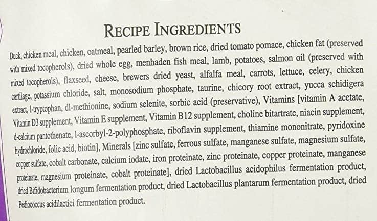 Ingredients Fromm Gold Adult Dog Food Small Breed Dry Food