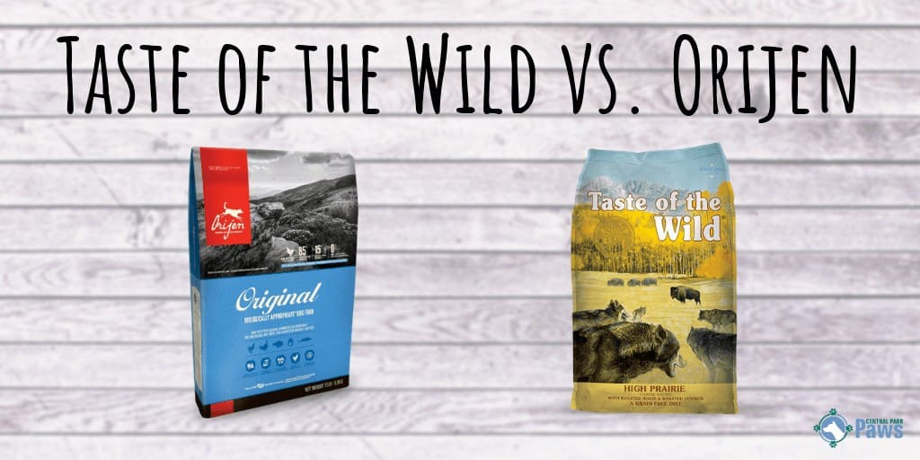 Taste of the Wild vs Orijen Review