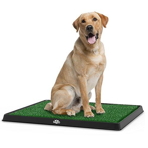 Fake grass potty pad indoor dog potty peeing training alternative