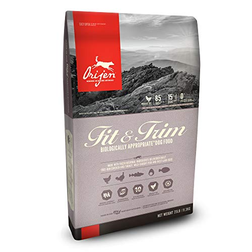 Orijen fit trim weight loss grain free dog food any good