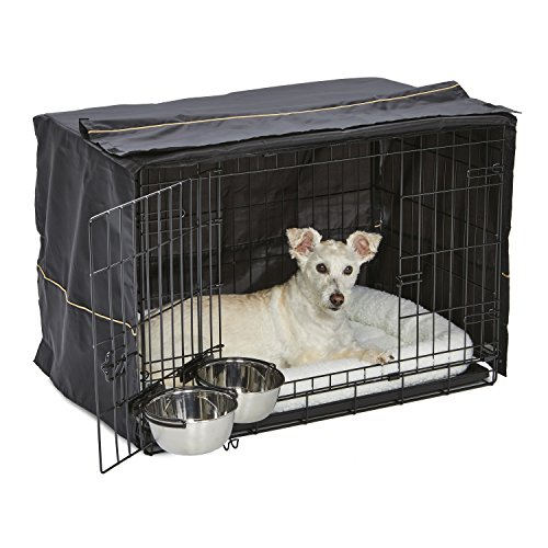 are dogs happy safe in a crate denning instinct sleep at night