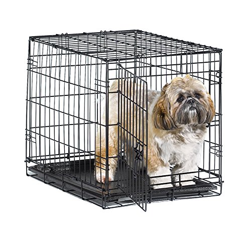 Appropriately sized crates bring dogs comfort and bowel control