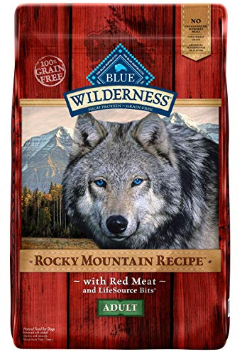 Blue buffalo wilderness rocky mountain recipe red meat dog food