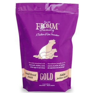 Fromm family gold small breed adult dog food any good