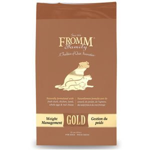 Fromm gold weight management large bag best price value dog food