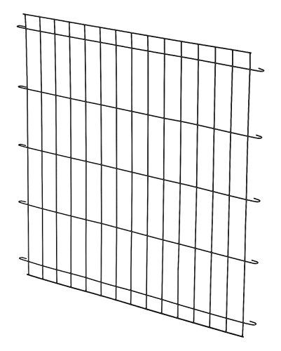 How to use crate divider size wire cage for puppies small breed dogs