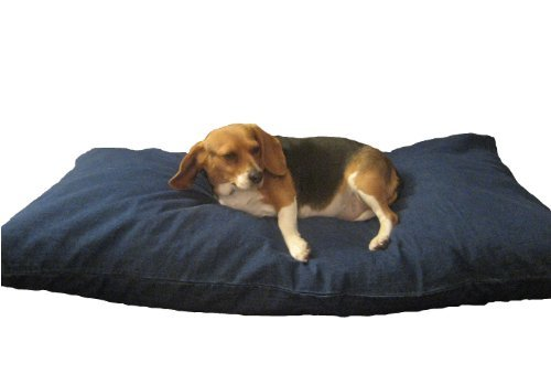 DIY dog bedding pillow case cover waterproof liner fill yourself with cedar chips