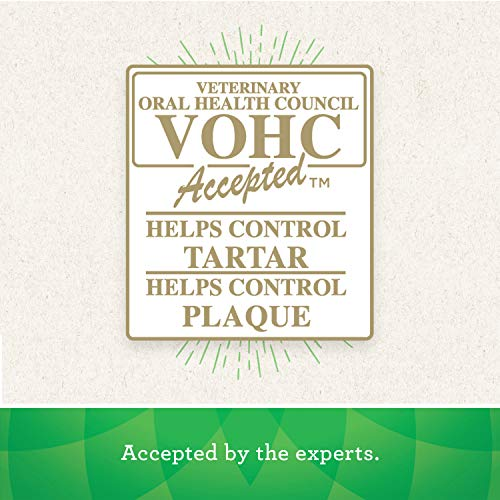 Veterinary oral health council VOHC accepted dog treats tartar plaque