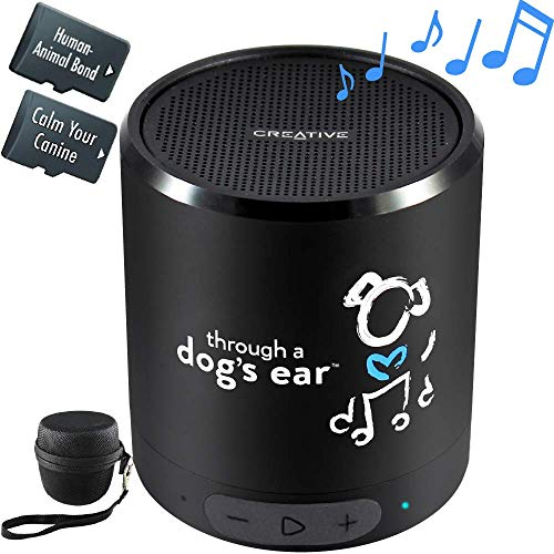 Pet dog calming music speaker hours of relaxing sounds for comfortable crate use