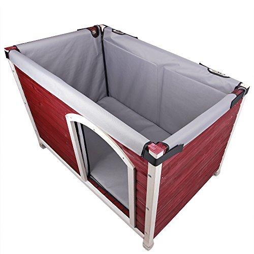 Petsfit cabin insulation kit good bed durability long term keep dog warm cool