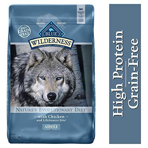 Blue wilderness healthy holistic high protein grain free dog food diet